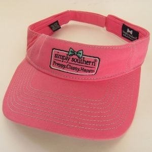 Simply Southern Pink Visor Velcro Adjustable